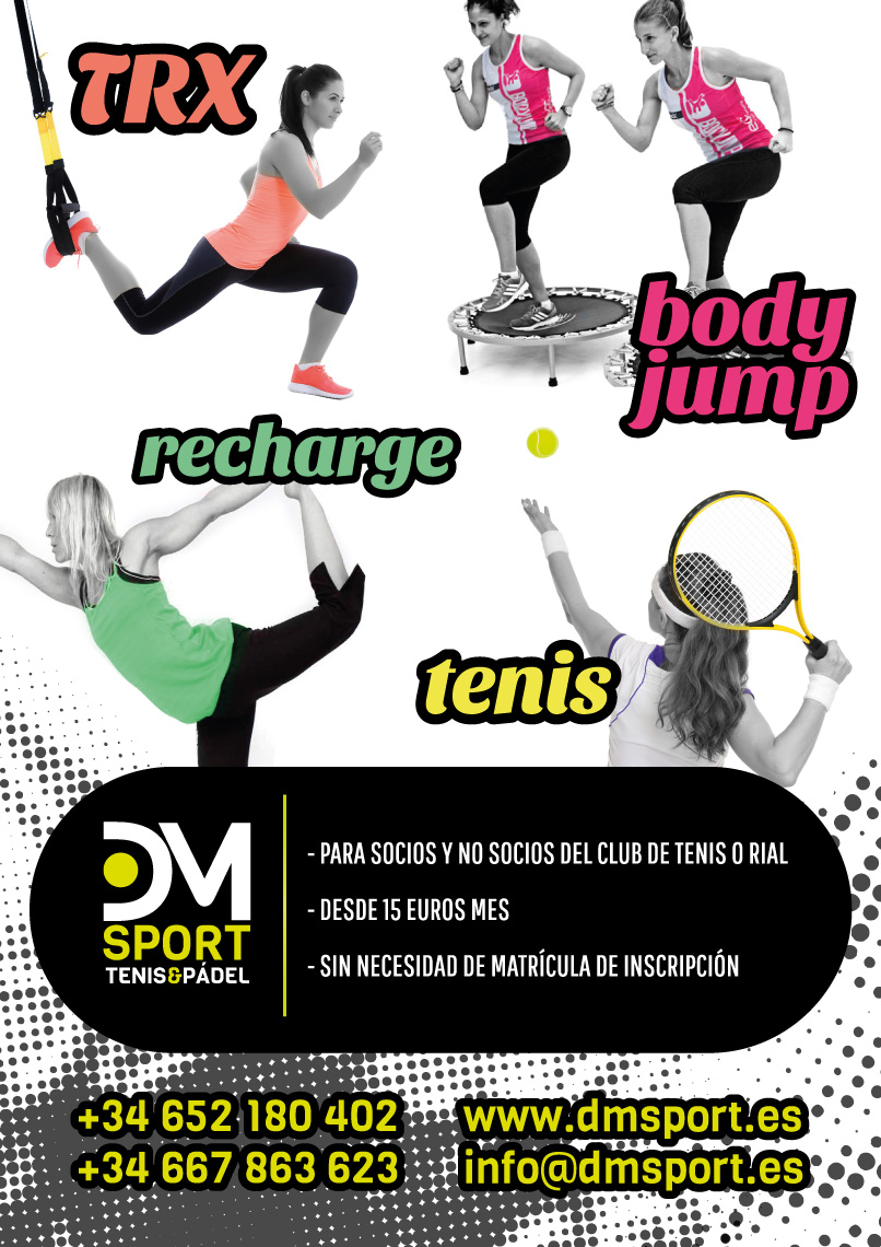 cartel clases fitness 2016