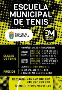 Escuela Municipal de Tenis Ribadumia