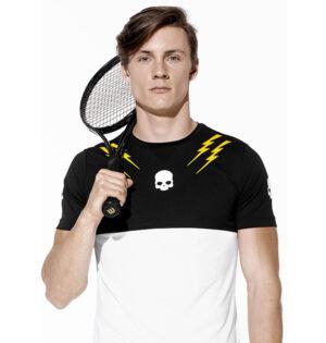 Hydrogen unixex camiseta Thunders blanco negro