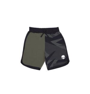 tech camo shorts verde
