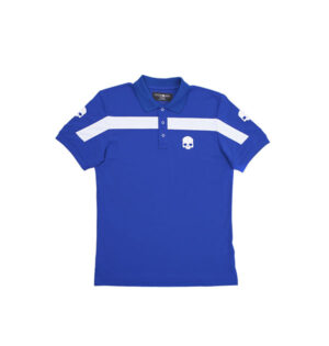tech polo italia azul