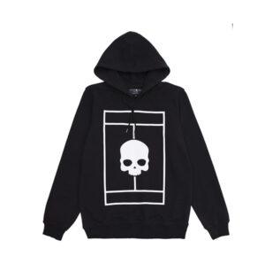 tennis court hoodie negro