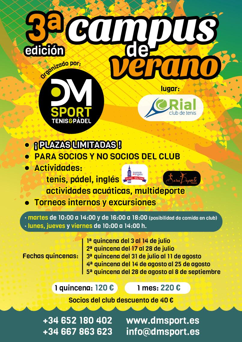 Campus de Verano DM Sport 2017