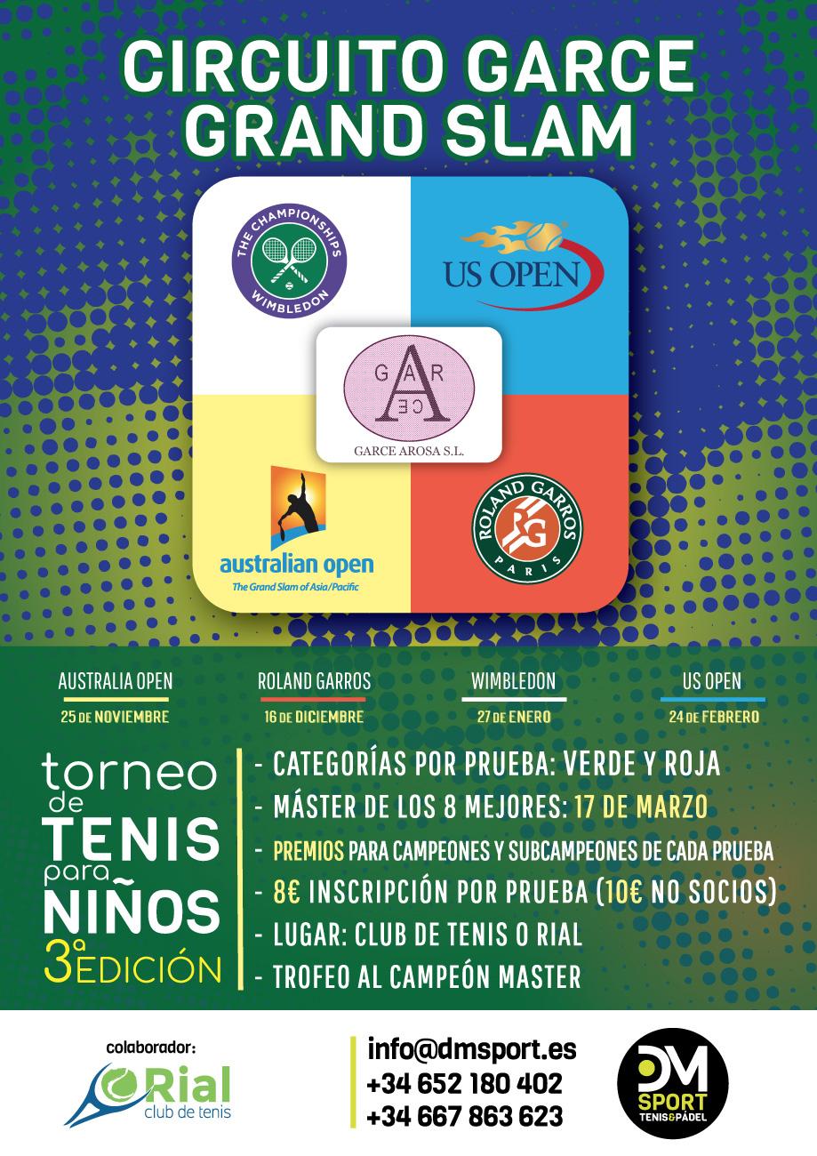 3 Edición Circuito de Tenis Grand Slam