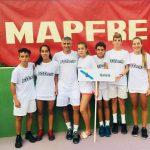 Tres jugadores DMsport con la selección gallega infantil