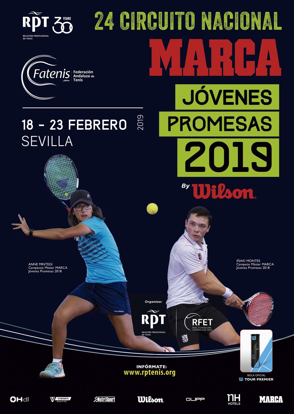 El Club de Tenis O Rial en el Rafa Nadal Tour y Circuito Marca de Sevilla