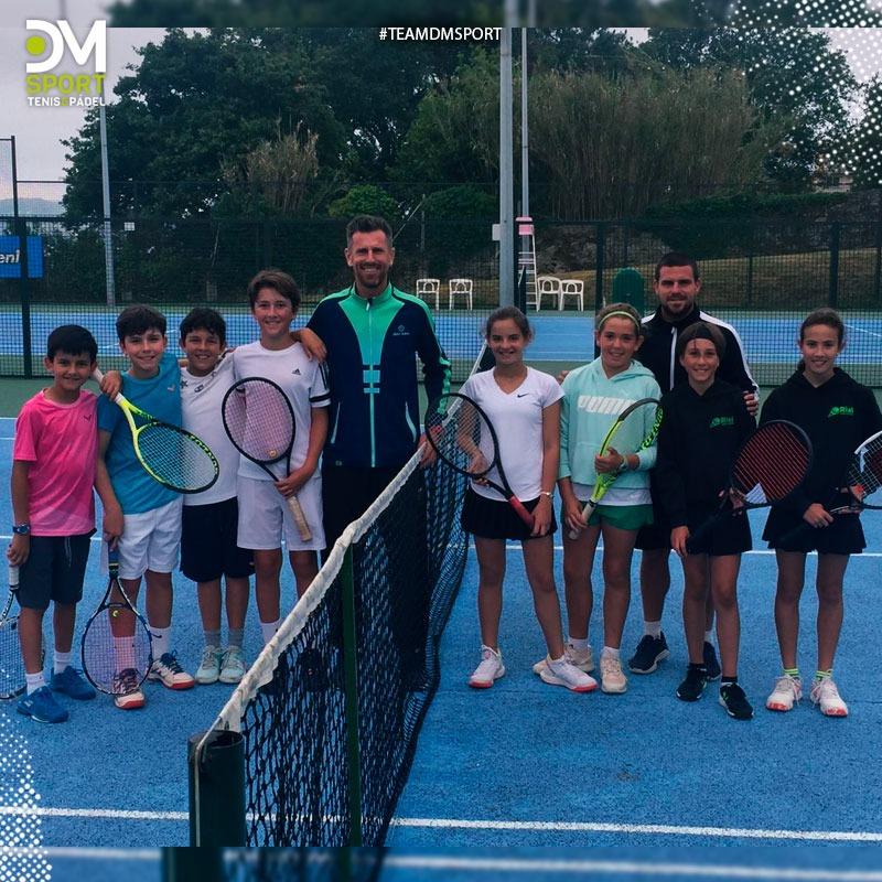 Finalistas del Campeonato Gallego por equipos en categorías infantil masculina y femenina