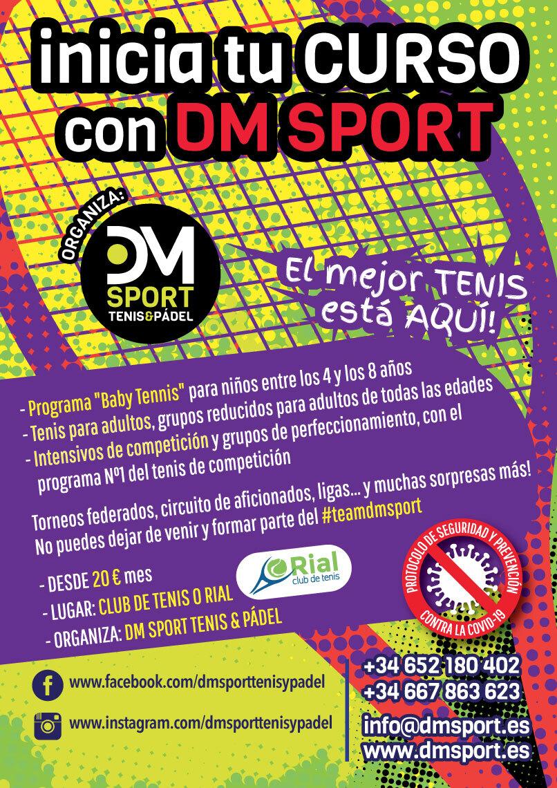 Inicia tu curso con DMsport
