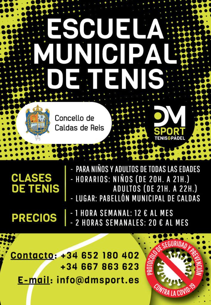 Escuela municipal de tenis (Burgas de Caldas)