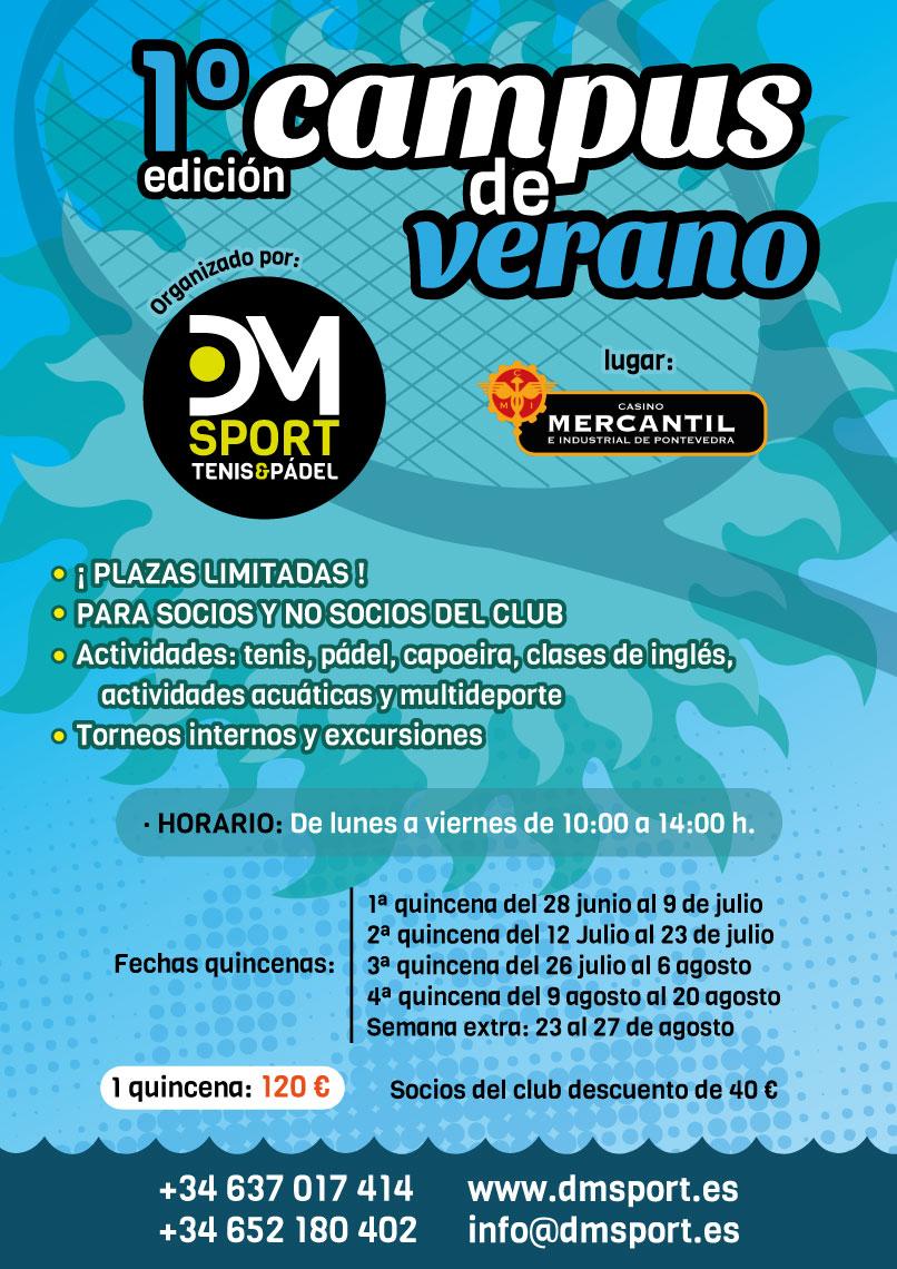 Primer Campus de verano Mercantil Pontevedra